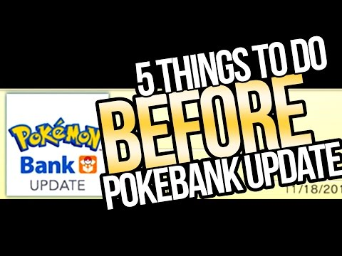 5 Things to Do BEFORE Pokemon Bank Update 2017 for Sun and Moon!