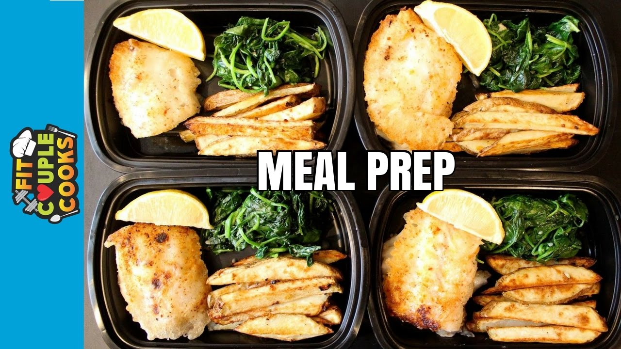 How to meal prep ep 39 fish and chips 3 meal youtube for Fish meal ideas