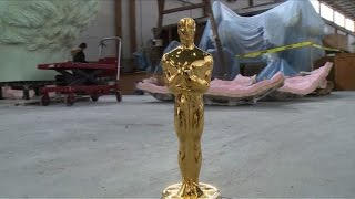 Oscar statuettes return to original bronze at NY foundry
