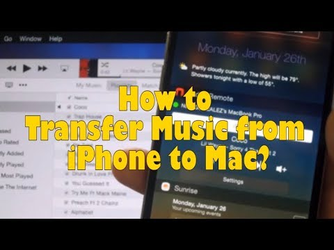How to Transfer Music from iPhone to Mac
