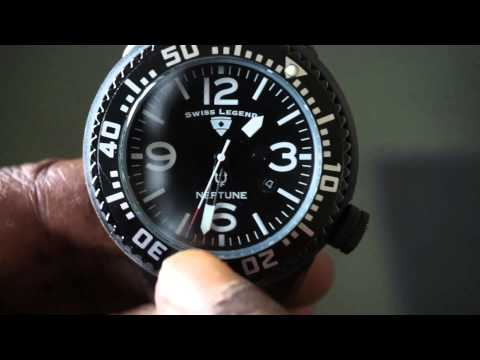 How to use the ROTATING BEZEL on your Divers Watch. Setting the Dive Profile Bottom time.