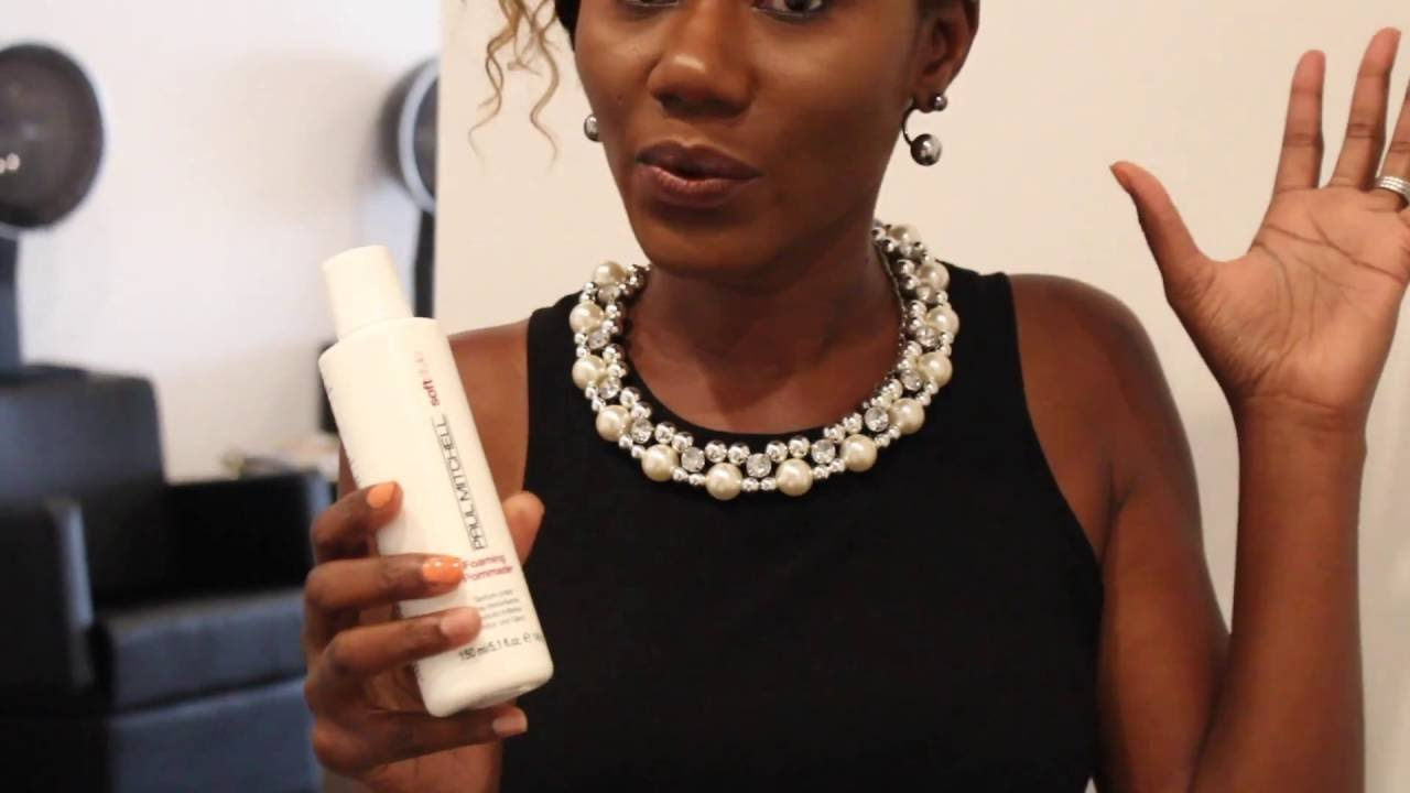 Paul Mitchell Foaming Pommade Review