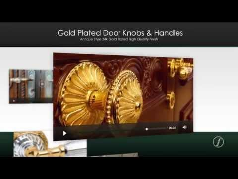 Fulham Brass & Ironmongery - Swarovski Door Furniture - Architectural Ironmongery, London