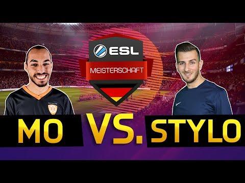 DREIFACHER ESL MEISTER MO_AUBAMEYANG VS. TABELLENFÜHRER STYLO! | ESL MEISTERSCHAFT 4. SPIELTAG VOD