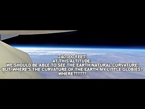 Where's the Curvature of the Earth? None of You Can Debunk This Video!