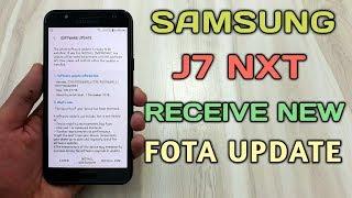 Samsung Galaxy J7 Nxt Receive New Fota Update
