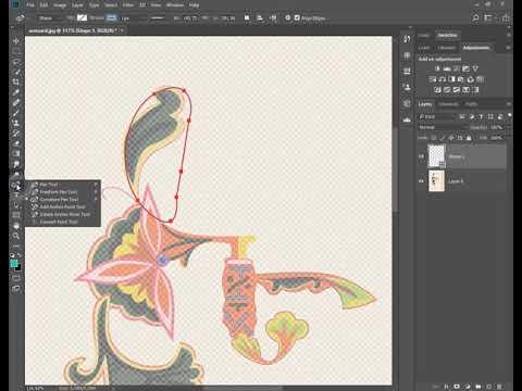 Adobe Photoshop CC – Curvature Pen Tool