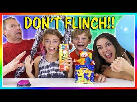 😁TRY NOT TO FLINCH CHALLENGE😂| We Are The Davises