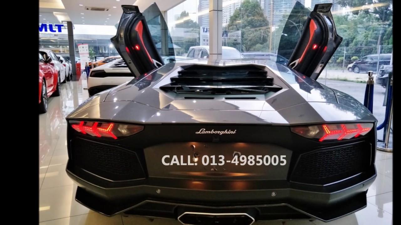 Malaysia Lamborghini Aventador Lp700 4 For Sale Youtube