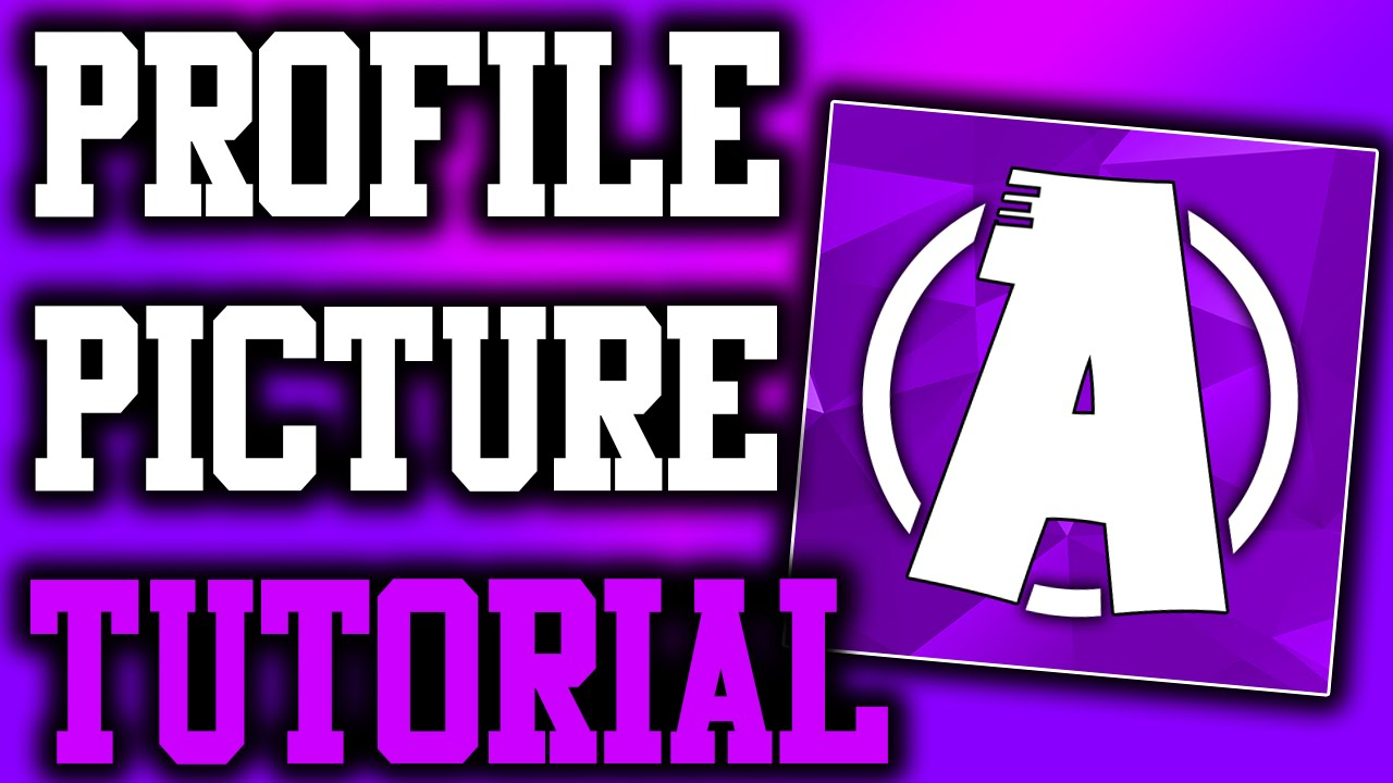 How to make a profile picture with photoshop