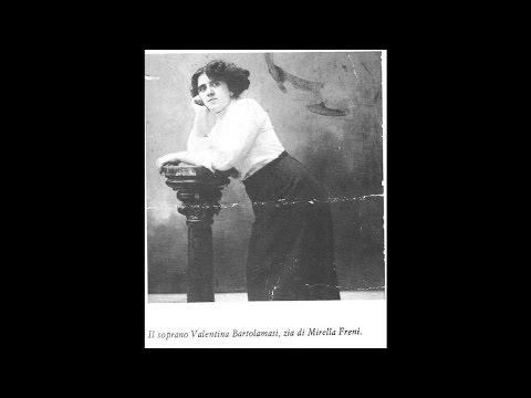 Tosca, parte 1ª.  Con Valentina Bartolomasi, Attilio Salvaneschi e Adolfo Pacini