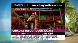 Buyinvite: Paradise Resort, Gold Coast Thumbnail