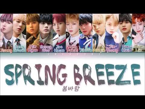 Wanna One (鞗岆剤鞗�) - 'SPRING BREEZE (氪勲皵霝�)' LYRICS (Color Coded Eng/Rom/Han/臧�靷�)
