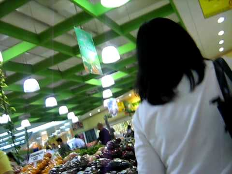 Inside a Supermarket in Manila - Fruit Section
