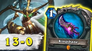 Hearthstone: 13-0 - Awesome Wild Deck (Kingsbane Rogue)