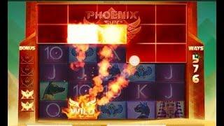 Machine à sous PHOENIX SUN - un jeu avec bonus de rouleaux supplémentaires.