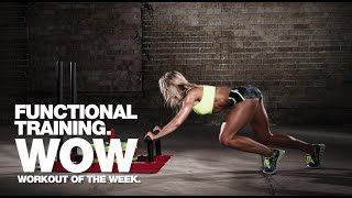 Functional Training: Sled and Kettlebell Conditioning Workout of the Week
