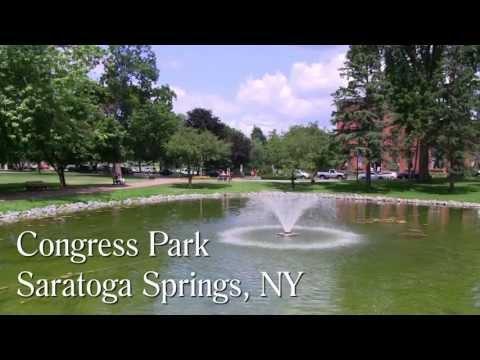 Saratoga Springs NY, Congress Park