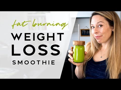 fat-burning-green-smoothie-for-weight-loss