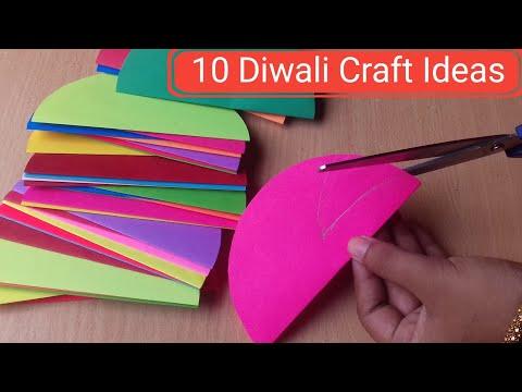 10 Easy Home Decoration Ideas For Diwali | Diwali Decoration Ideas | Craft gallery