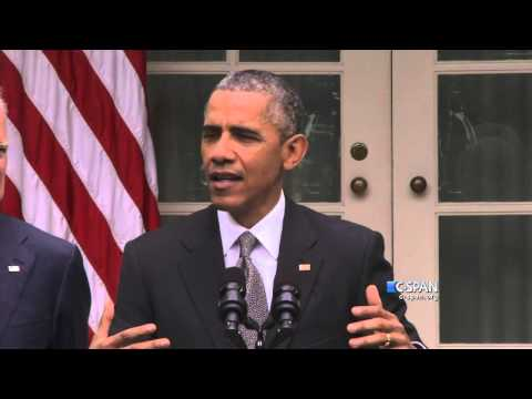 "President Obama: ""The Affordable Care Act is here to stay."" (C-SPAN)"