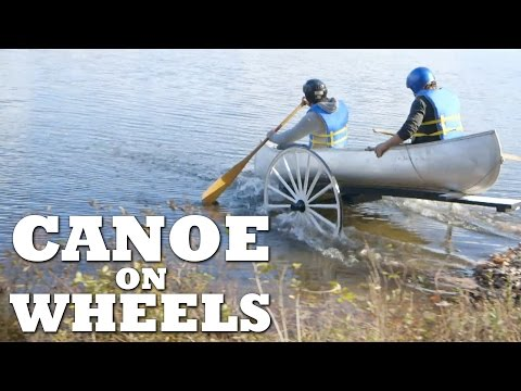 DIY Canoe on Wheels