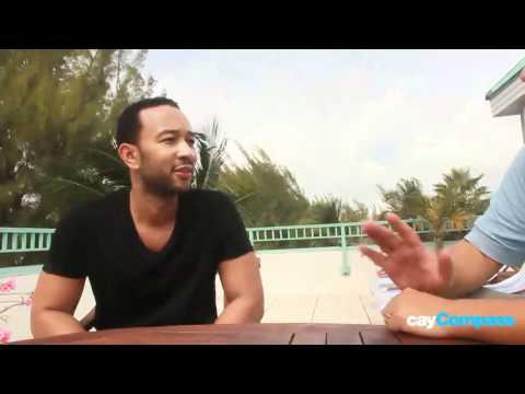 John Legend in Cayman