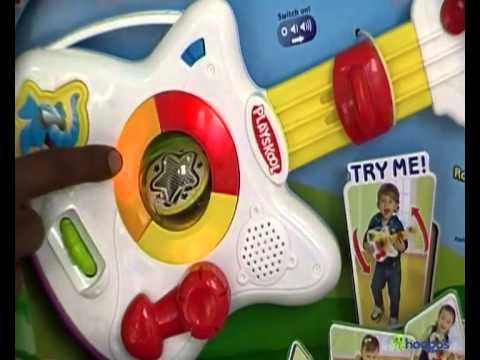 playskool rocktivity jump n jam guitar & playskool rocktivity jump n jam guitar - YouTube