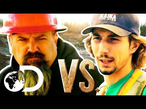 Gold Rush | The Hilarious Todd Hoffman VS Parker Schnabel Showdown!