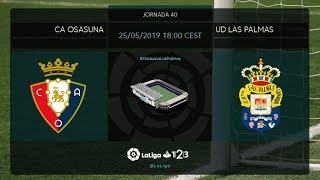 C.A. Osasuna - UD Las Palmas MD40 S1800