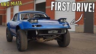 homepage tile video photo for AWD Miata Hits BOOST FOR THE FIRST TIME! Sounds AMAZING!