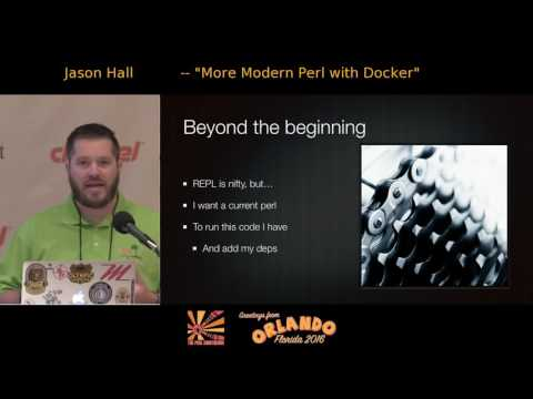 More Modern Perl with Docker