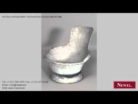 Art Deco Antique Bath Tub American Accessories for Sale