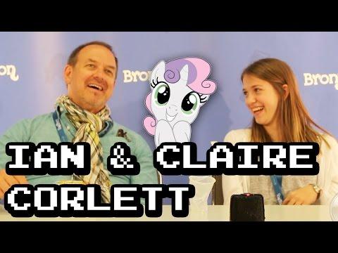 BronyCon 2014 Claire Corlett Press Conference 1080p HD