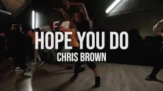 Chris Brown - Hope You do - Robert Green Choreography
