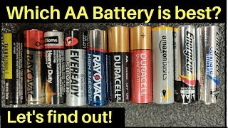 Which AA Battery is Best?  Can Amazon Basics beat Energizer? Let's find out!