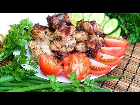 Шашлык из свинины Как замариновать шашлык Два способа