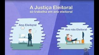 A Justiça Eleitoral só trabalha em ano eleitoral?