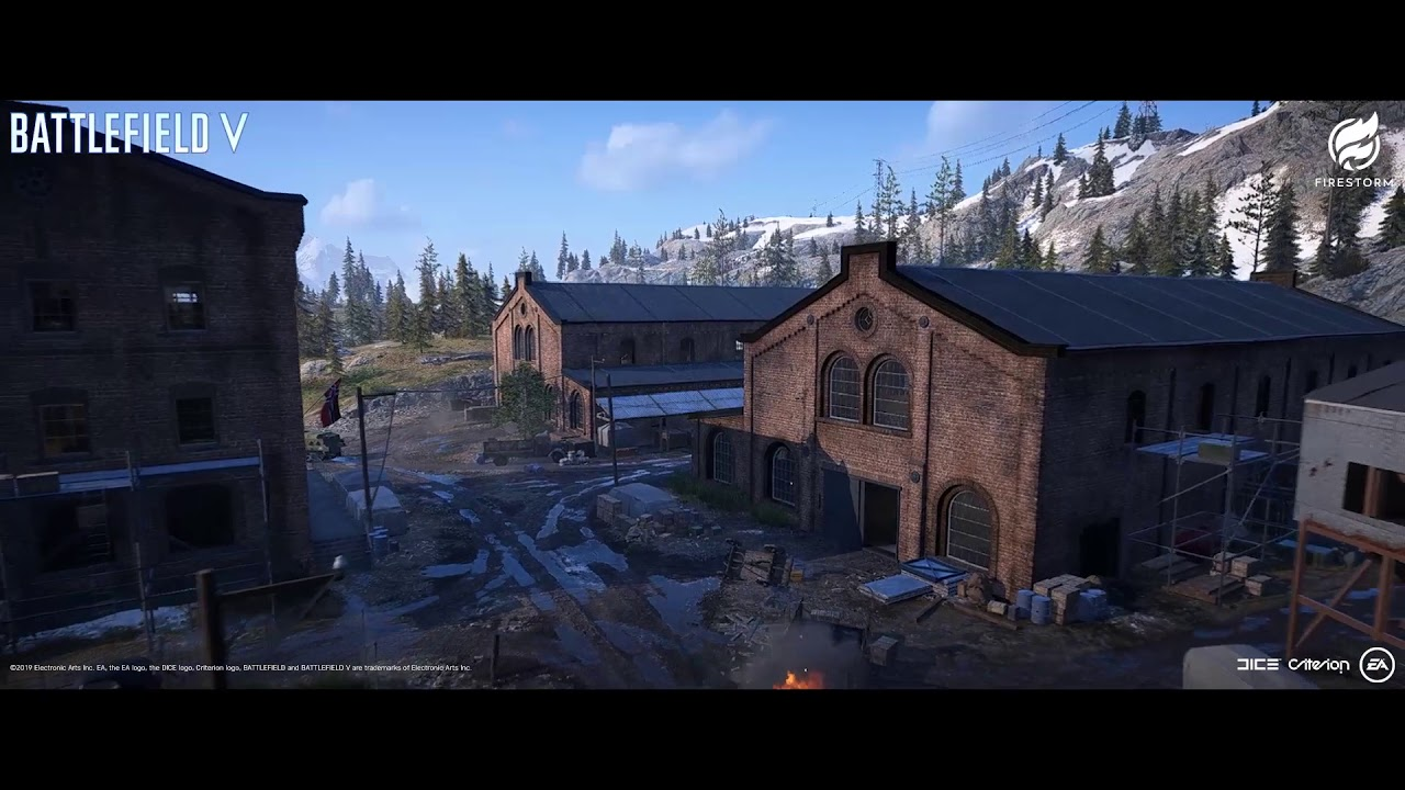 BFV FIRESTORM SR Factories Video