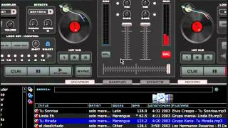mezclando merengue con virtual dj.wmv