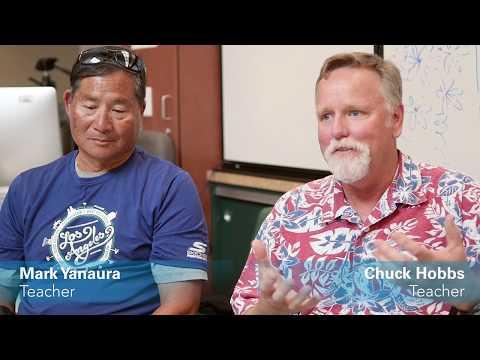 Mark Yanaura and Chuck Hobbs - Vista Del Mar Middle School - Teacher Appreciation Week 2017