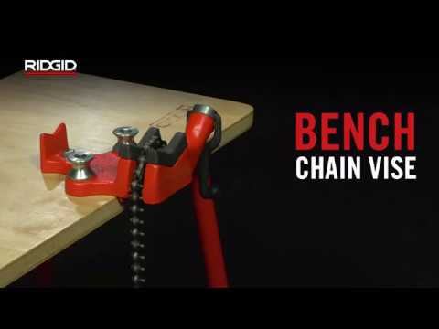 RIDGID Bench Chain Vise