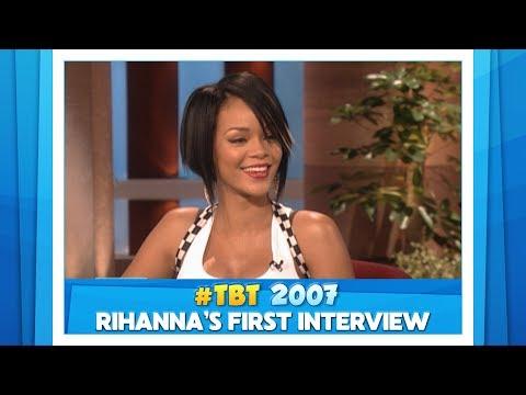 Ellen Show vs. Rihanna's First Interview #TBT