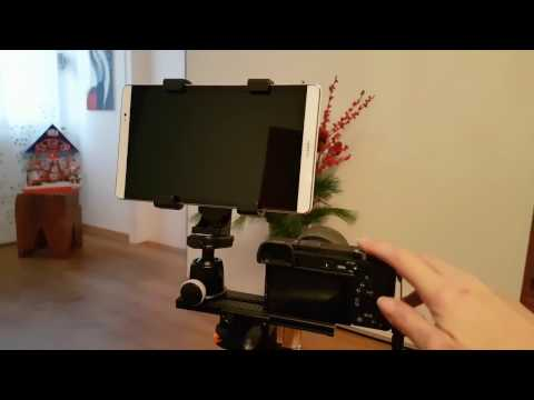 Sony A6300 Using Tablet Or Smartphone As An External Video Monitor