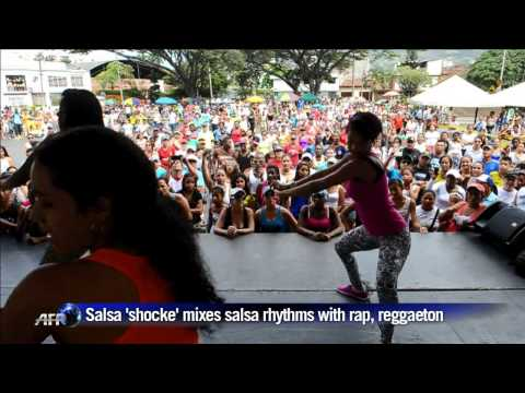 Colombia dances new salsa popularized by football team