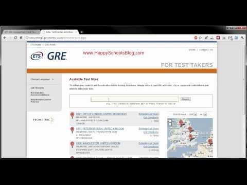Gre test dates