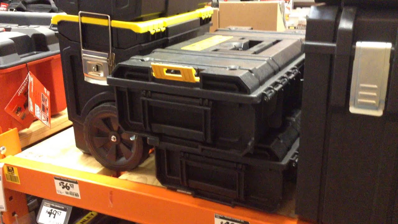 DeWalt U0026 Ridgid Modular Storage System For Medical Gear Vs Pelican Hardigg  Comparison   YouTube