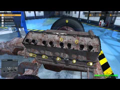 Car Mechanic Simulator 2015 1968 Charger 440 Teardown for overhaulin