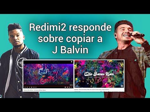 Redimi2 Responde a los que lo acusan de copiar  a J Balvin. Esto Suena Biena