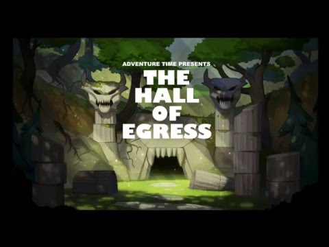 Adventure Time Title Card Painting Process  Hall of Egress